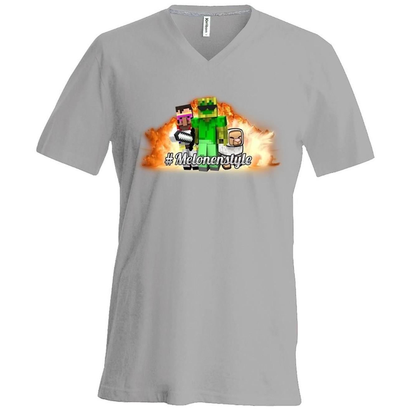 Melonenstyle T Shirt V Neck