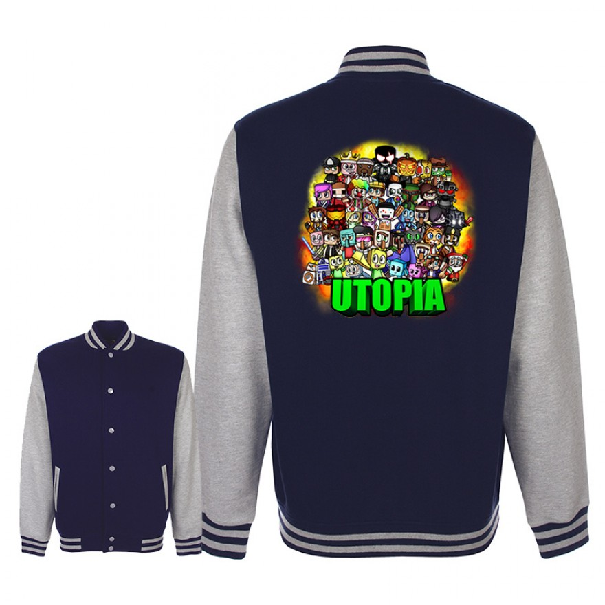 Utopia college jacke for Rote college jacke
