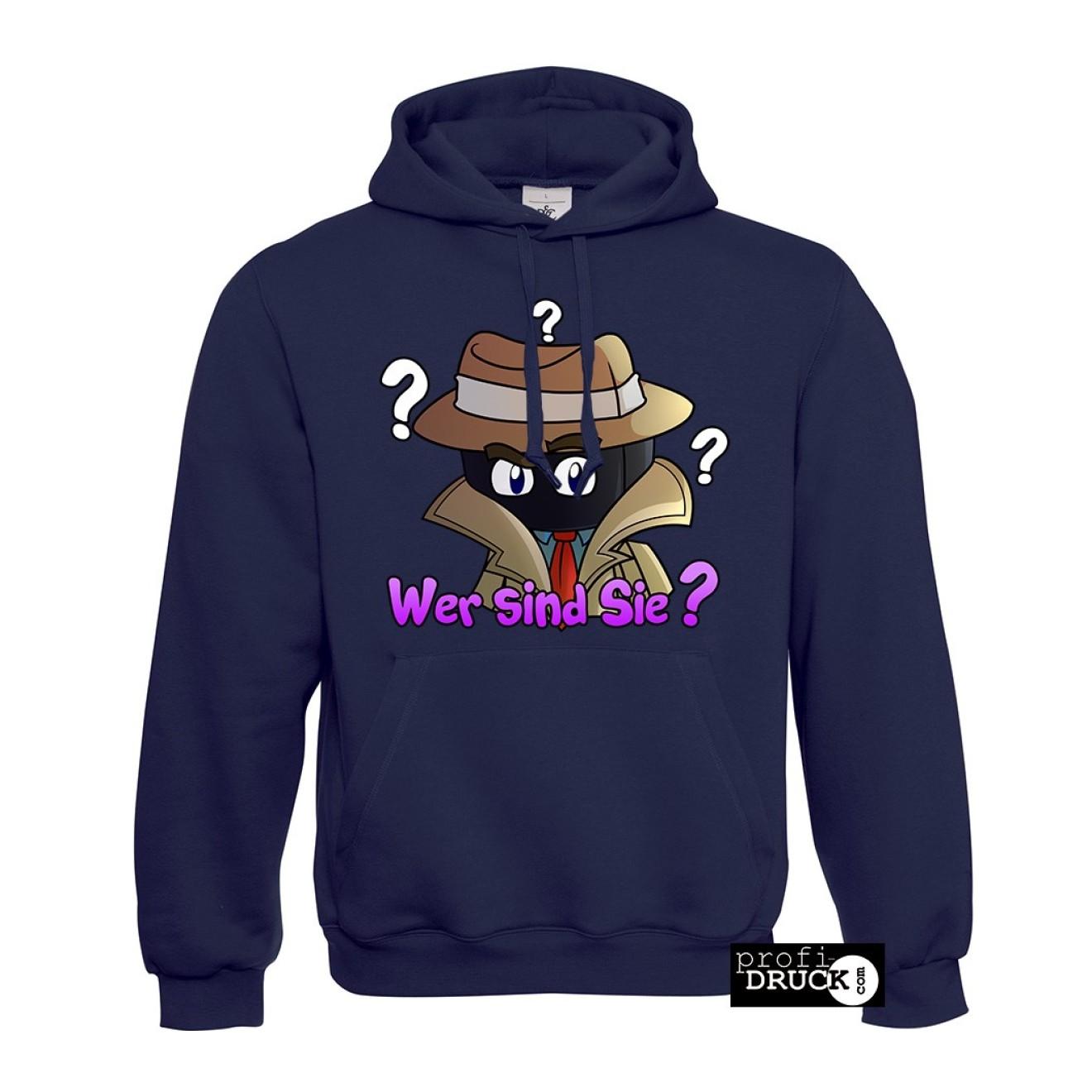 wer sind sie hoodie variante purple. Black Bedroom Furniture Sets. Home Design Ideas