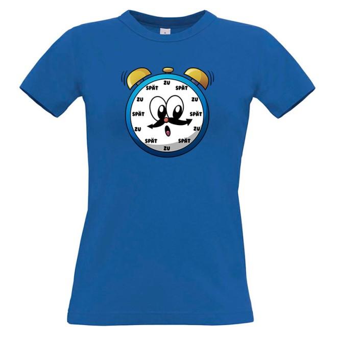 ZU SPÄT T-Shirt Girlie Shirt