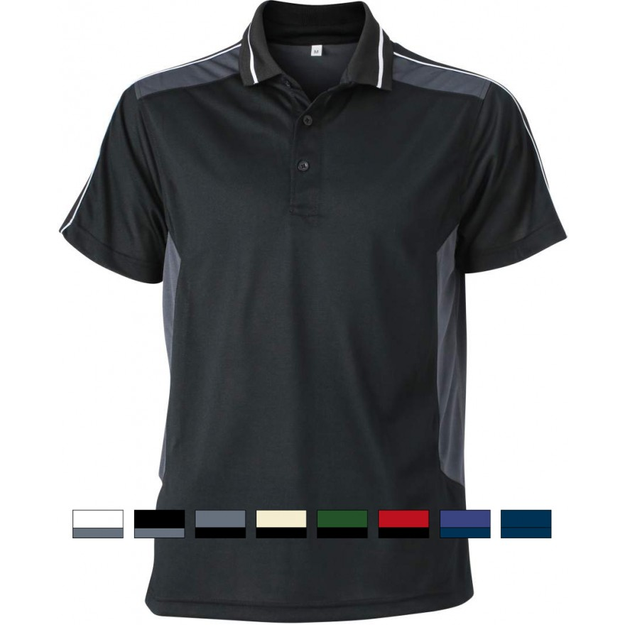 James & Nicholson | JN 828 Herren Workwear Piqué Polo