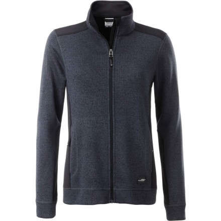 James & Nicholson | JN 861 Damen Workwear Strickfleece Jacke
