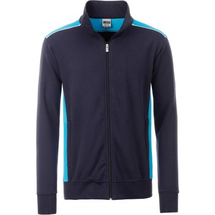 James & Nicholson | JN 870 Herren Workwear Sweat Jacke