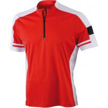 JN 452 Men´s Bike-T-Shirt Half Zip
