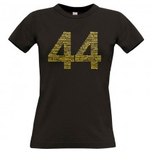 44GOLD T-Shirt GIRLIE Shirt