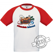 BESCHDE INTERNET Baseball T-Shirt kids