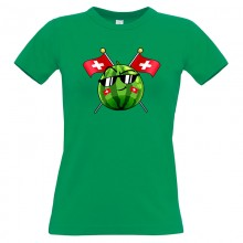 TEAM MELONE SCHWEIZ T-Shirt Girlie Shirt