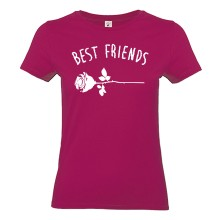 Best Friends ROSE T-Shirt Girlie Shirt