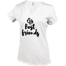 BEST FRIENDS T-Shirt V-Neck