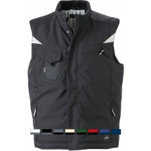 James & Nicholson | JN 825 Workwear Winter Softshell Gilet