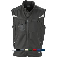 James & Nicholson | JN 845 Workwear Sommer Softshell Gilet