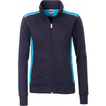 James & Nicholson | JN 869 Damen Workwear Sweat Jacke